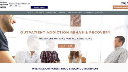 The Charter Oak Group website design for