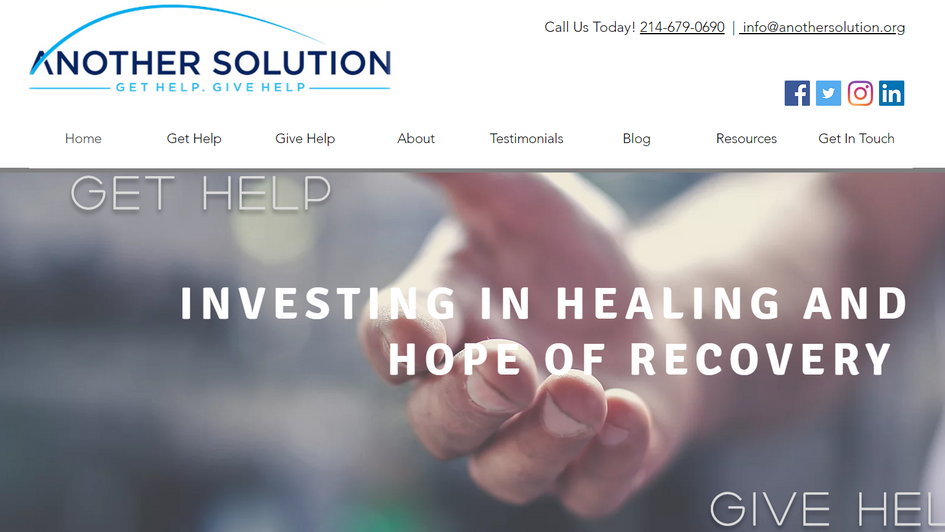 Another Solution Website by The Charter