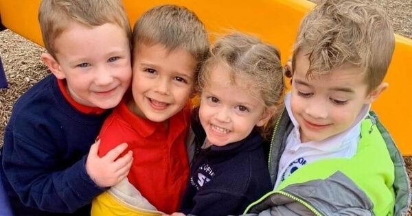 Children at Pre-school in Dallas at Scof