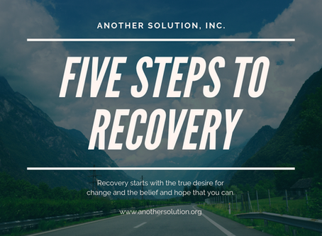 5 STEPS TO RECOVERY