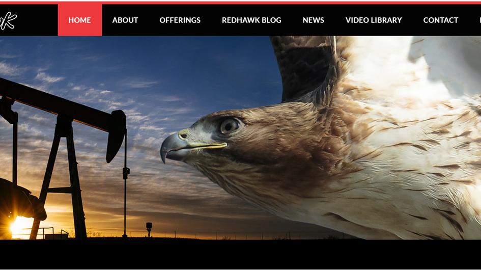 Redhawk Website by The Charter Oak Group