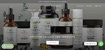 Thryv Organics Website Homepage Image by