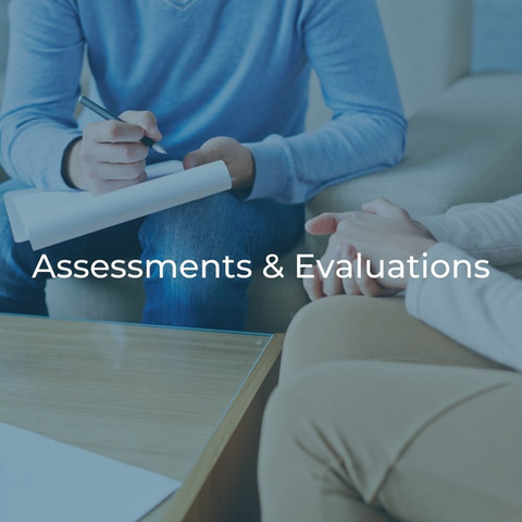 Assessments & Evaluations