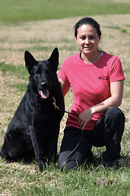 Maya Jedlicka is the Training Manager at Cosmic Canine dog training