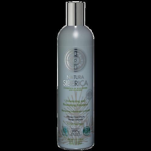 Shampoo Volumen y nutrición – Para todo tipo de cabello