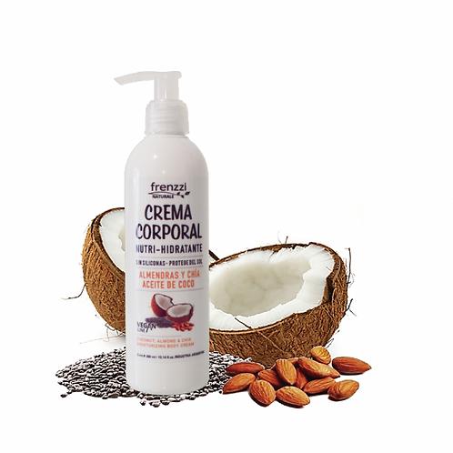 Crema Corporal Coco (Almendras y Chia)