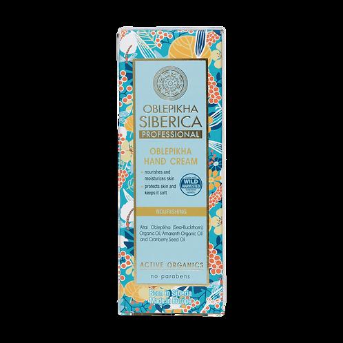 Cremas de manos Oblepikha – Nutritiva