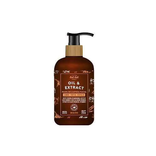 Pulpa de limpieza facial Oil & Extract