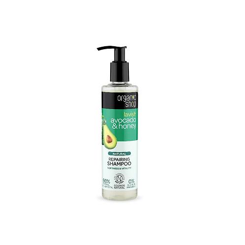Shampoo Reparador de Palta orgánica & Miel Organic Shop