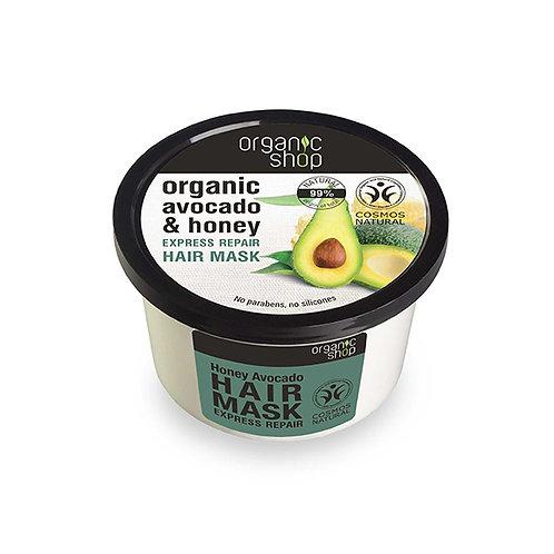MÁSCARA Capilar Reparadora de Palta orgánica & Miel Organic Shop