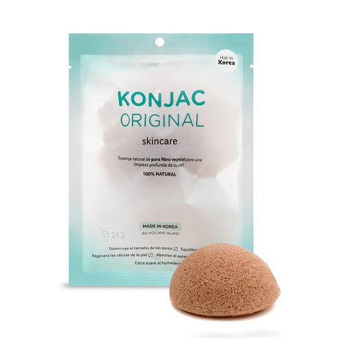 Esponja Facial con Fino Extracto de Chamomile (Manzanilla)