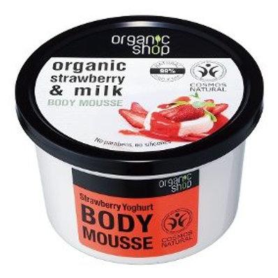 Yogurt De Frutillas crema corporal Organic Shop