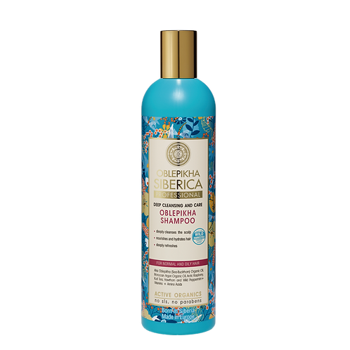 Shampoo Oblepikha – Cabello normal a graso