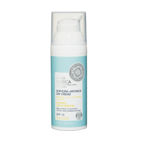 Crema de día para piel grasa / mixta – Equilibrante e hidratante