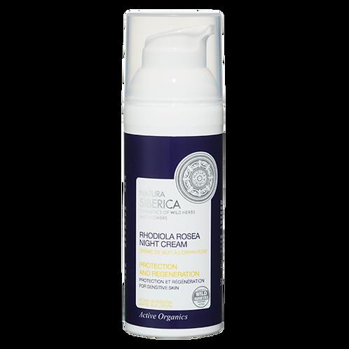 Crema de noche para piel sensible – Protección y regeneración