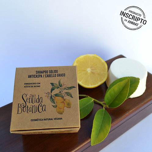 Shampoo Sólido - Cabello Graso/Anticaspa