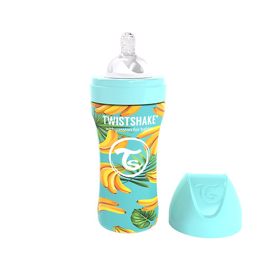 Mamadera Twistshake de Acero Inoxidable 330ml