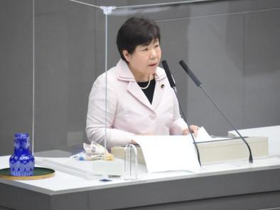 検査・業者支援拡充を/都議会で補正予算を可決 あぜ上三和子氏が討論