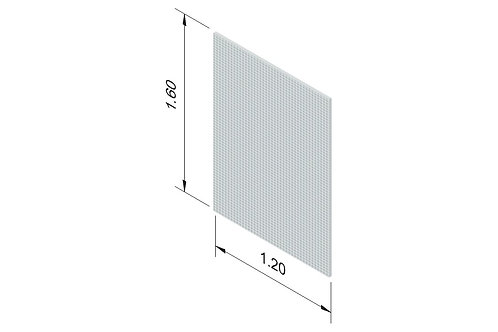 DIVISTO S 120, Höhe 160cm