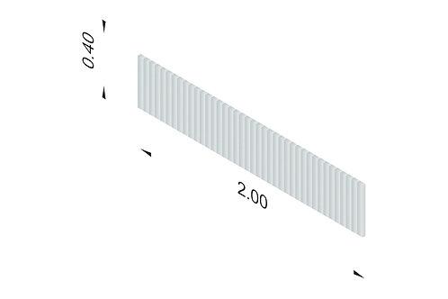 DIVISTO T 40, Breite 200cm