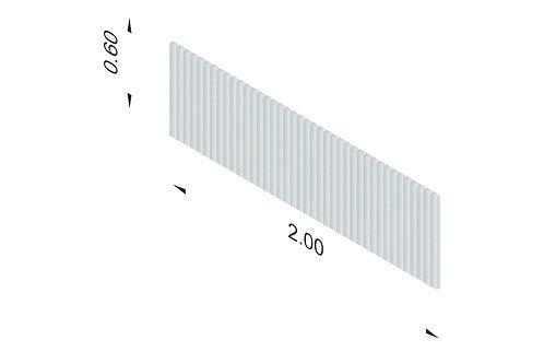 DIVISTO T 60, Breite 200cm
