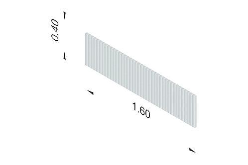 DIVISTO T 40, Breite 160cm