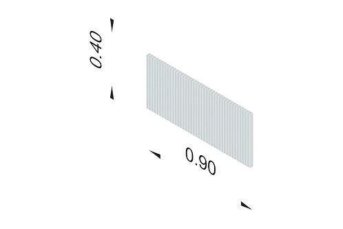 DIVISTO T 40, Breite 90cm