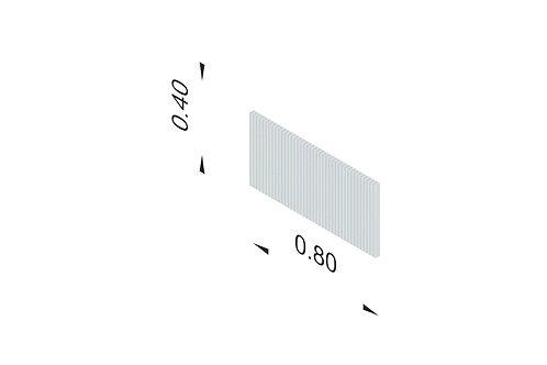 DIVISTO T 40, Breite 80cm