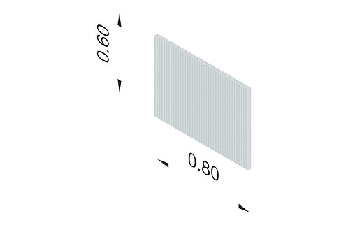 DIVISTO T 60, Breite 80cm