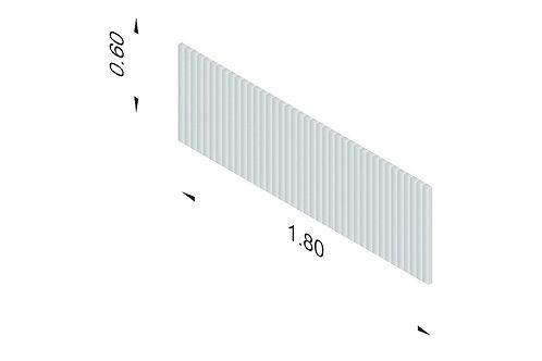 DIVISTO T 60, Breite 180cm