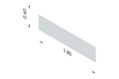 DIVISTO T 40, Breite 180cm