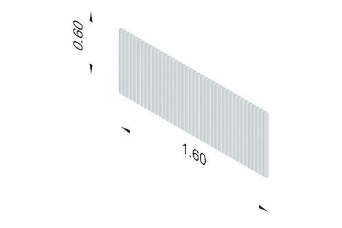 DIVISTO T 60, Breite 160cm