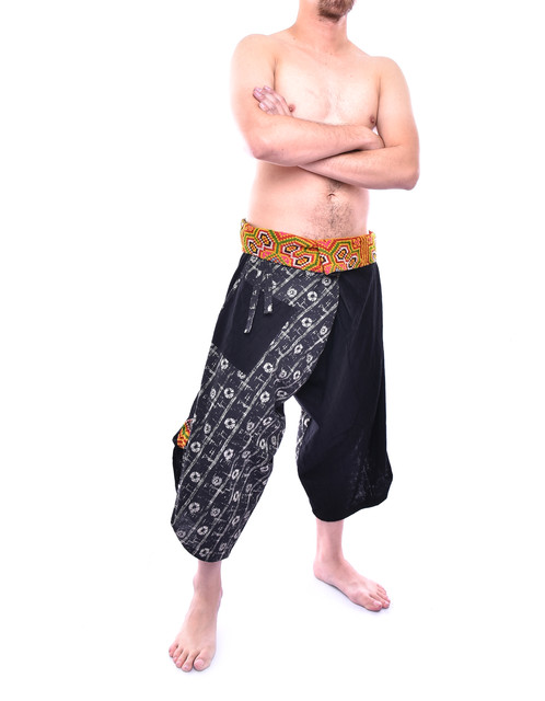 Limited Edition Samurai Pants Is Inspired By X Hmong Hill Tribe Style Made Of High Quality Cotton And Print Special Technique
