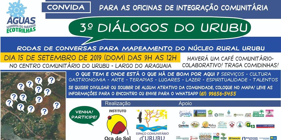 3° Diálogos do Urubu - Ecotrilhas Fase 2 (Projeto Fundação BB 17091)
