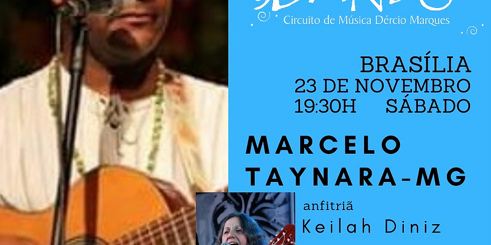 Dandô Brasília com Marcelo Taynara - MG e anfitriã Keilah Diniz