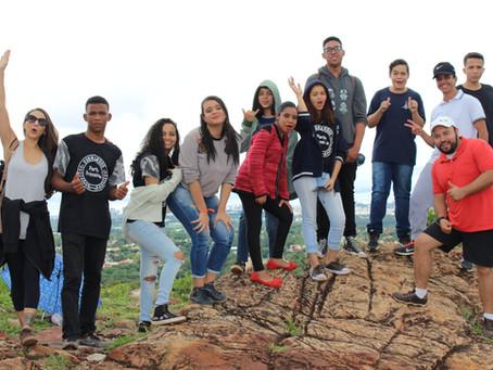 Manhã ecopedagógica na Oca do Sol com estudantes do Centro de Ensino Fundamental do Lago Norte.