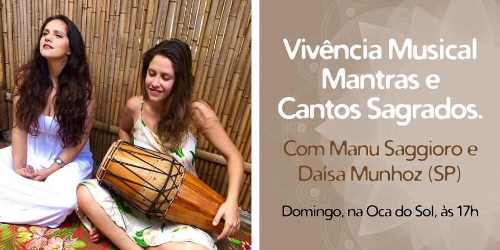 Vivência Musical Mantras e cantos sagrados.
