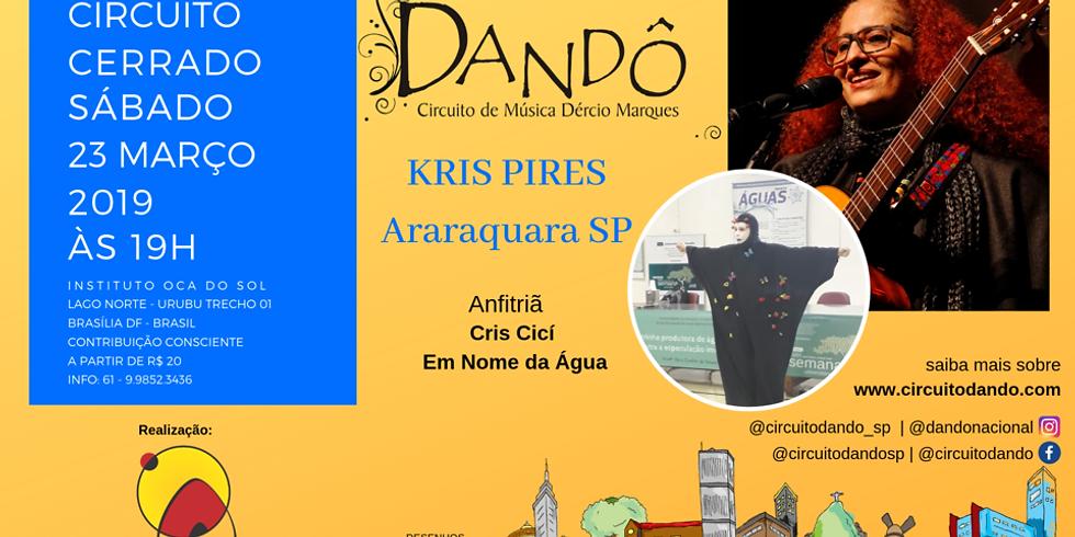 Dandô - Violonista e autora Kris Pires