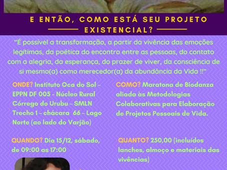 Maratona de Biodanza aliada as metodologias colaborativas para elaboração de projetos pessoais