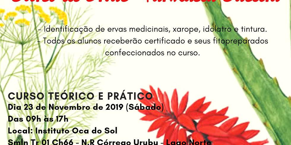Casa das Hervas - Curso de ervas (Farmácia Caseira)