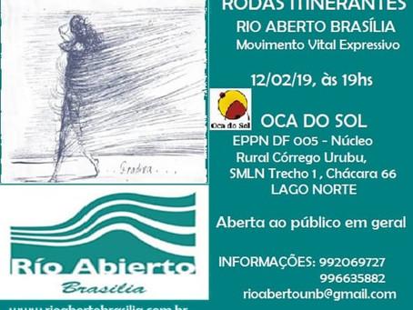 Parceria entre Rio Aberto Brasília e Instituto Oca do Sol oferece aula experimental.