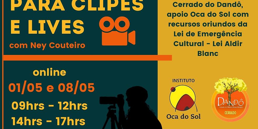 Oficina de Audiovisual para Clipes e Lives