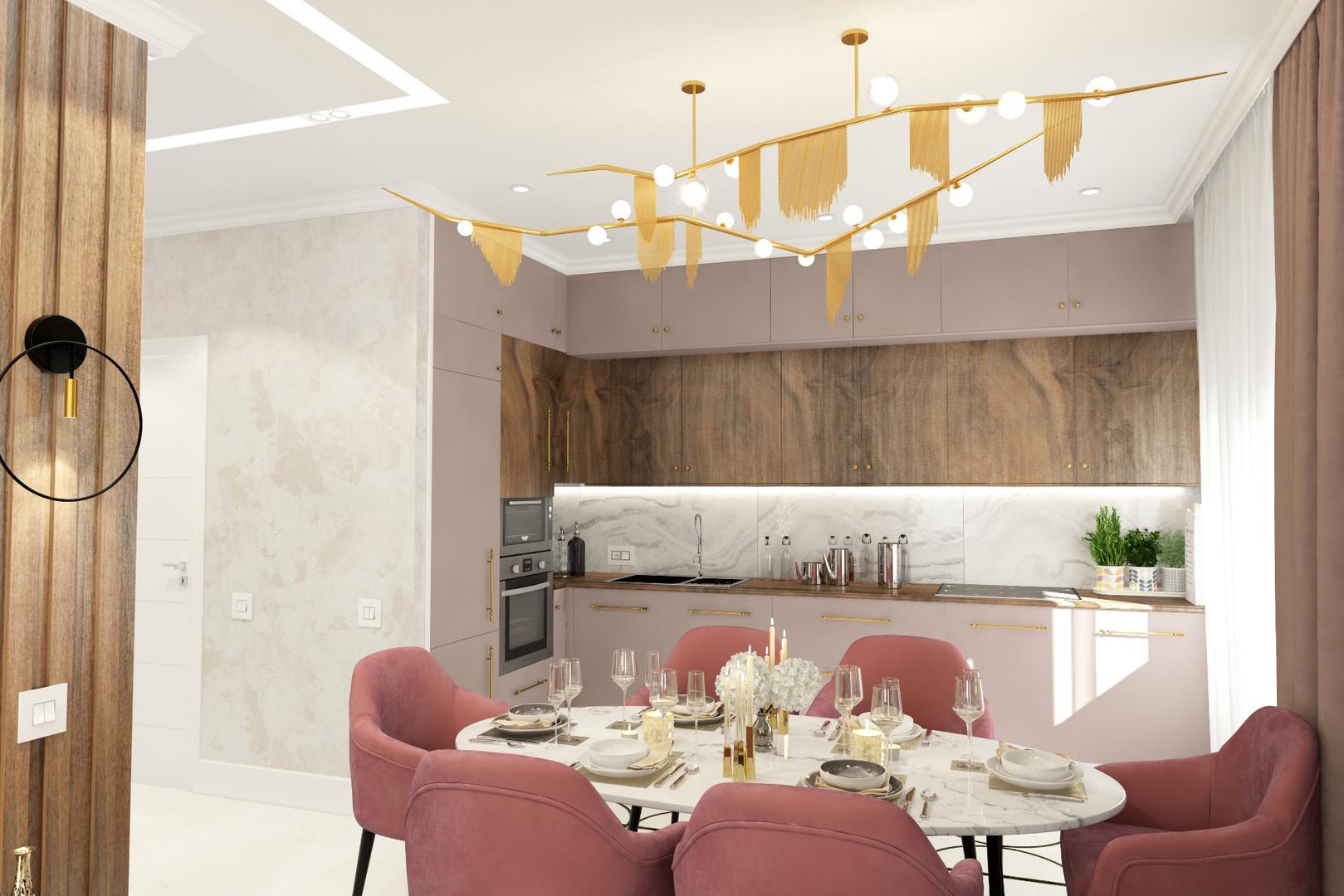 Кухня - гостиная 3