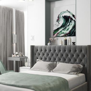 Уютная спальня для молодой семьи