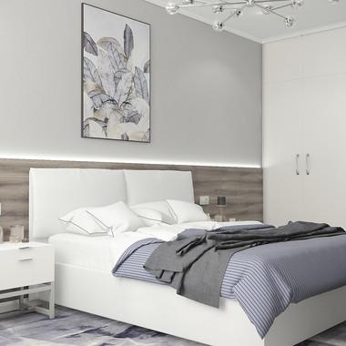 Современная стильная спальня 🤍