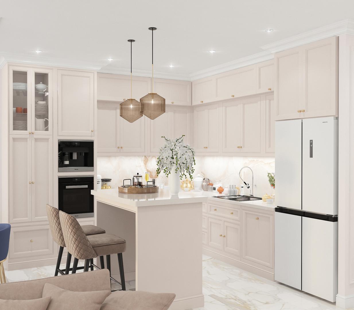 Кухня-гостиная 5