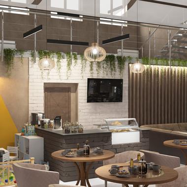 Представляем вашему вниманию наш небольшой проект кафе в городе Камышин💫