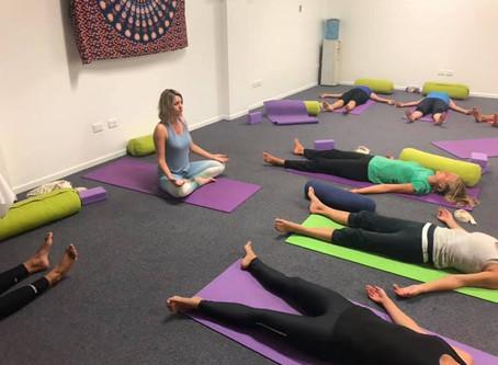 New Saturday Morning Yoga Class!