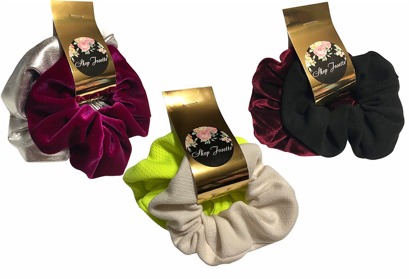 Scrunchy Duo (50% of proceeds donated)