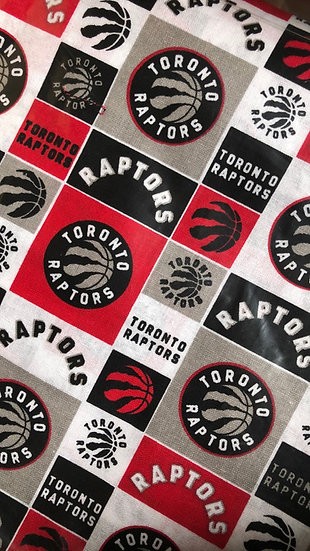 Toronto Raptors Mask Grid design
